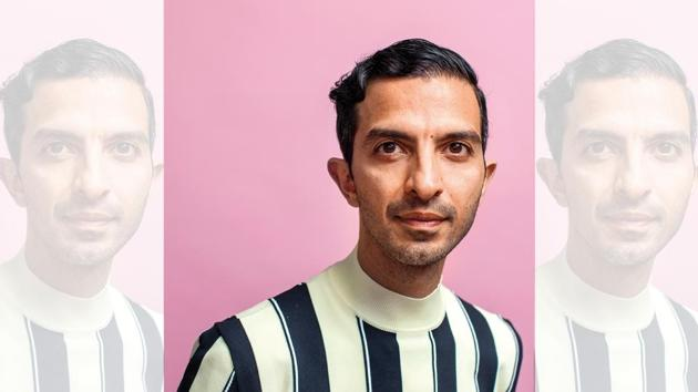 A Harvard graduate who quit his management job at McKinsey, Imran Amed took a leap of faith and merged his love for data with his interest in fashion (Styling by Nikhil Mansata)(Jean Goldsmith)