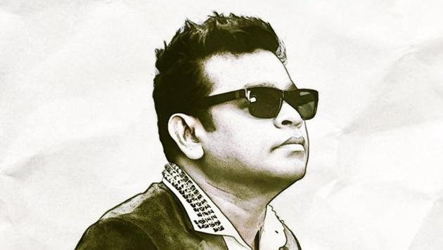 Vikram has released a special poster featuring AR Rahman.