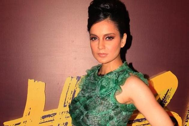 Actor Kangana Ranaut is seen in this file photo in Mumbai . Ranaut has been granted Y category security by the Union ministry of home affairs (MHA), officials said on Monday.(ANI Photo)