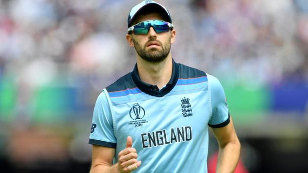 Mark Wood in action during the ICC World Cup 2019 final between England and New Zealand.(AFP)