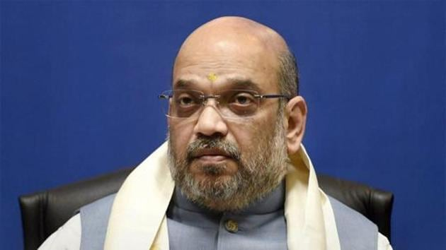 Home minister Amit Shah(PTI)