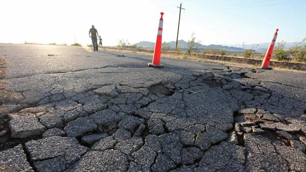 An earthquake measuring 5.5 on the Richter scale jolted Western Australia on Monday morning.(Representative Image/Reuters File Photo)