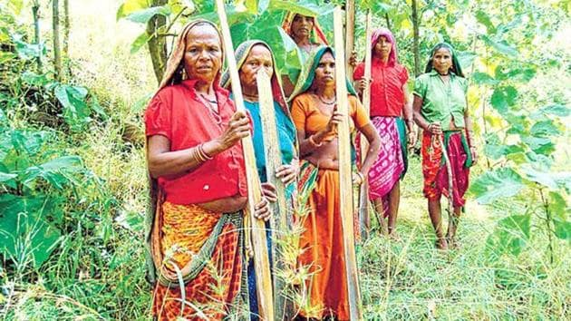 The first right FRA confers is individual forest rights (IFRs) to habitation and cultivation. The critics of FRA assailed it as a forest give-away. Some of them even took the maximum limit on IFRs (four hectares), and multiplied it by the number of scheduled tribe families in India to declare that millions of hectares of forest would be lost.(HT FILE PHOTO)
