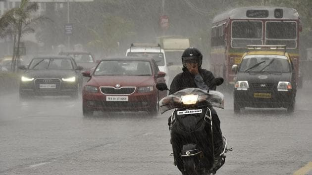 Monsoon may bring a sense of hope, but it comes with its own set of perils.(HT Photo)