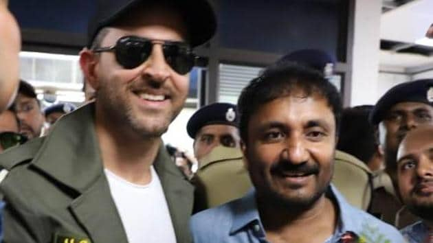 Guru Purnima 2019: Hrithik Roshan visits Anand Kumar in Patna as Super 30