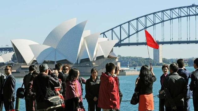 Australia is banking big on women and men T20 cricket world cups in 2020 to achieve the mark of half million tourists in a year.(AFP Photo)