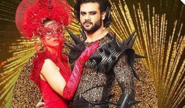 Vishal Aditya Singh in a promo for Nach Baliye 9.