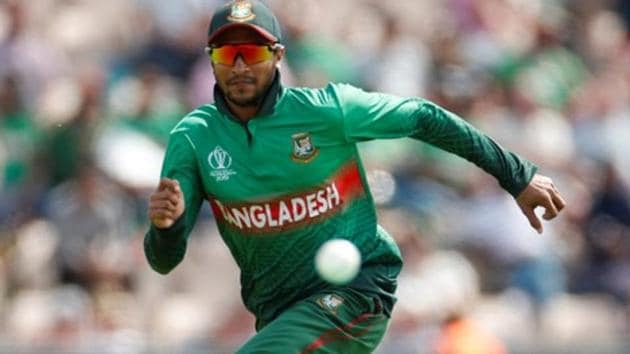 Bangladesh's Shakib Al Hasan in action.(Action Images via Reuters)
