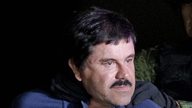 """Joaquin """"El Chapo"""" Guzman is expected to be sentenced to life in prison.(AP Photo)"""