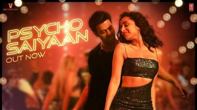 Shraddha Kapoor and Prabhas in a still from Saaho.