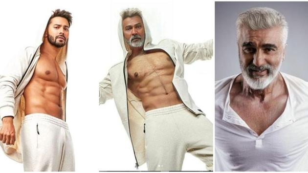 Varun Dhawan and Arjun Kapoor are the latest Bollywood celebs to try a new app which shows how we will look at an older age.(Instagram)