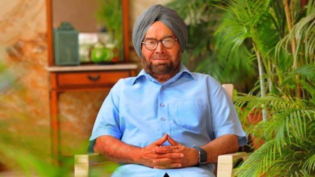Ajit Singh Chatha is the former chief secretary of Punjab.(Keshav Singh/HT)