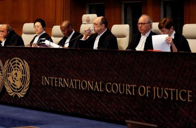 Much has been made of how both countries claimed victory after the ICJ's verdict on Wednesday but, in reality, the United Nations' principal judicial organ has given a ruling that favours neither side(REUTERS)