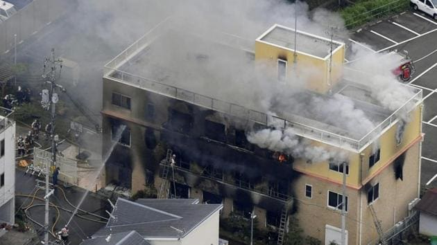 So far, 20 people were confirmed dead, including 12 on the first and second floors, and eight more on the third floor, Kyoto fire department official Mikihide Daikoku said(REUTERS Photo)