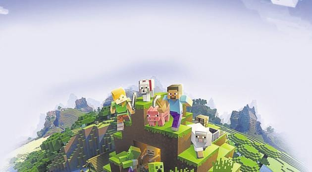 Minecraft is a sandbox game where players can modify their virtual world at will. 3D blocks of pixels can be used to create a home, city, or entire civilisation.