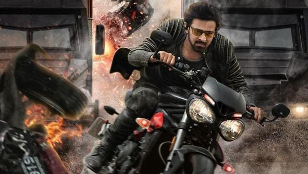 Saaho stars Prabhas and Shraddha Kapoor in lead roles.(Twitter)