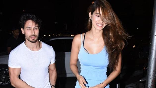 Tiger Shroff and Disha Patani spotted in Mumbai.(Varinder Chawla)