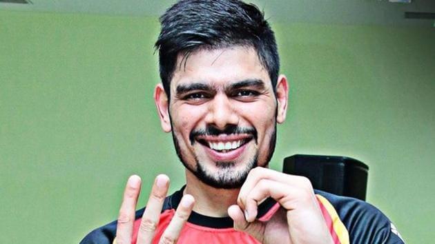 Bengaluru Bulls raider Rohit Kumar(PKL)