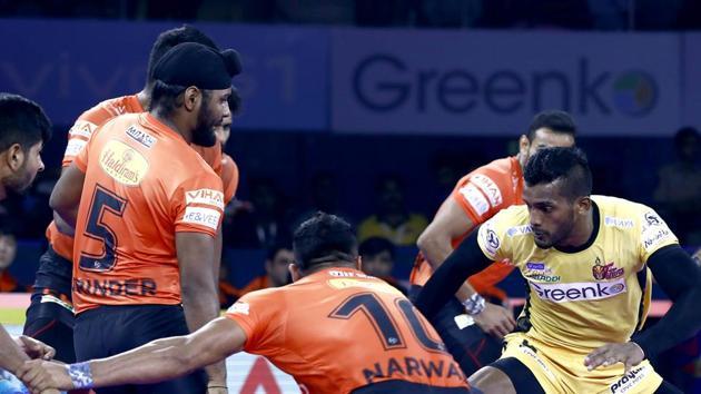 Pro Kabaddi 2019, Telugu Titans vs U Mumba Highlights, Match 1(PKL Image)