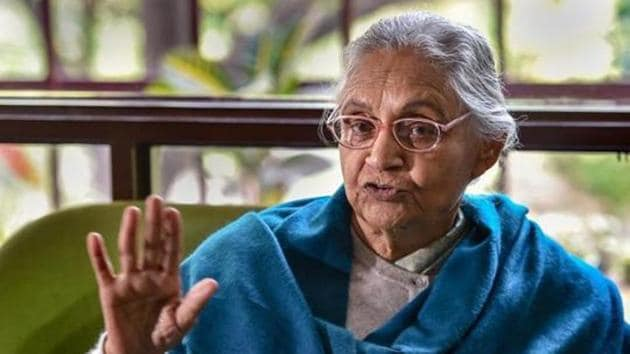 Sheila Dikshit was appointed as the Governor of Kerala in March 2014, but was forced to resign five months later.(PTI PHOTO.)