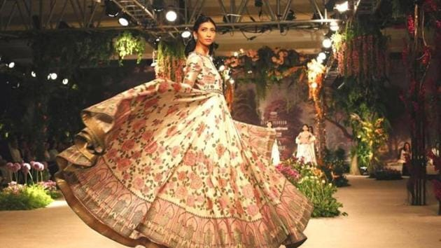 From making magnificent couture pieces with a strong resurgence of the past decades to innovating with fabrics and experimenting with new-age techniques - couturiers in India have made their distinctive presence felt time and again.(Jasjeet Plaha/HT Photos))