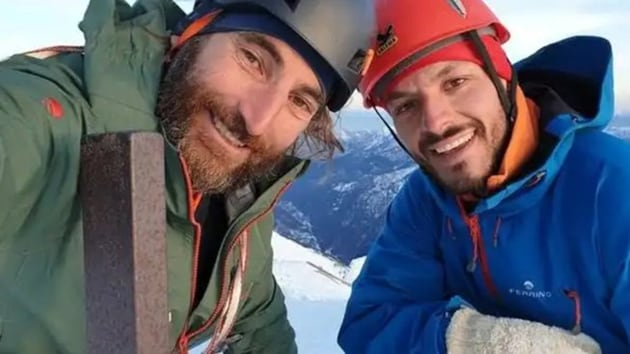 Climbing companion Carlo Alberto Cimenti, 43, said Cassardo had hit several rocks before stopping at around 6,300 metres.(Tweeted by @KarakoramClub)