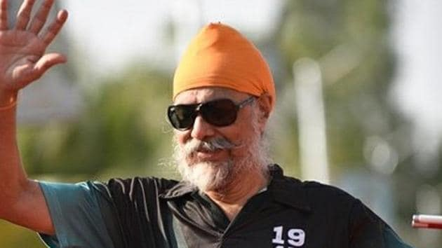 Mumbai-resident Chawla began his sports career at the age of 48 when he was already completely blind.(HT Photo)