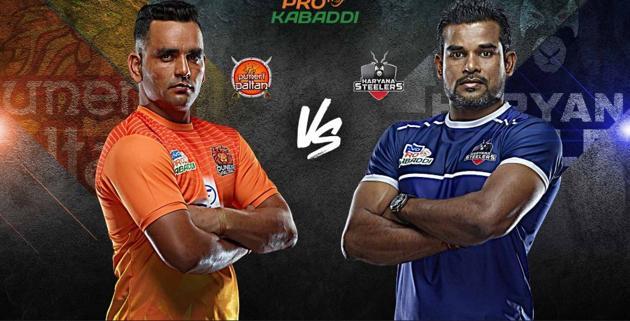 Pro Kabaddi 2019, Haryana Steelers vs Puneri Paltan highlights: Follow highlights of Haryana Steelers vs Puneri Paltan PKL match(PKL)