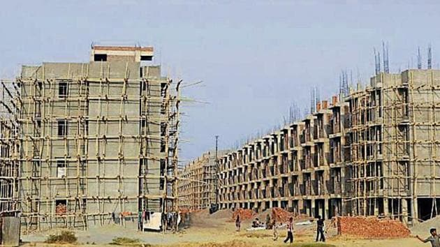 Only about 29% of the total 1.39 lakh units launched across the top seven cities in India in the first six months of 2019 are affordable, found the report.(Representational photo/HT Archives)