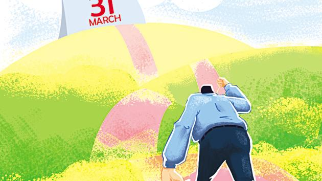 The penalty for filing your ITR late ranges from Rs 5,000 to Rs 10,000, depending on the delay and income tax due.(Illustration: Rushikesh Gophane)