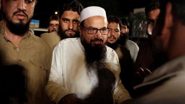 Hafiz Muhammad Saeed, LeT chief.(REUTERS FILE PHOTO)