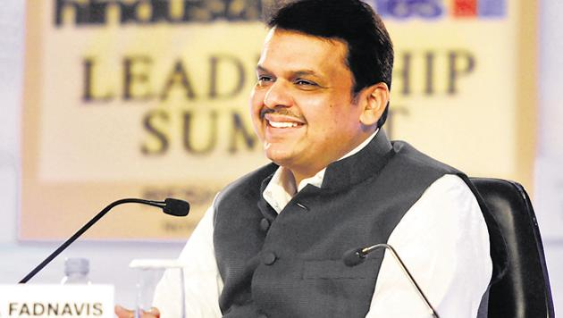 A humble gift of Rs 101, sent by a poor woman labourer to Maharashtra Chief Minister Devendra Fadnavis on his 49th birthday moved him to tears.(HT Photo)