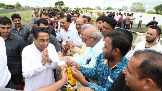Congress came to power in Madhya Pradesh after 2018 assembly elections winning 114 seats in a House of 230, a slim lead over BJP that bagged 108 seats. (Photo @OfficeOfKNath)