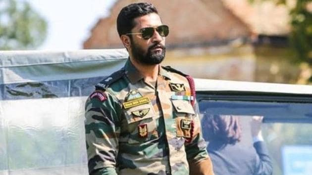 vicky Kaushal as Major Vihaan Singh Shergill in Uri: The Surgical Strike.