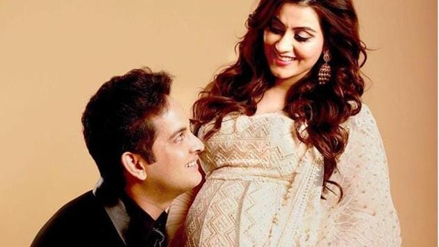 Priyanka Kalantari has welcomed a baby boy.(Instagram)