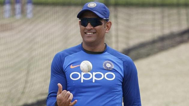 A file photo of MS Dhoni during the ICC World Cup 2019.(ANI)