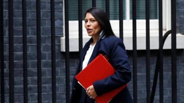 Priti Patel has been appointed Britain's new Home Secretary.(REUTERS FILE PHOTO)