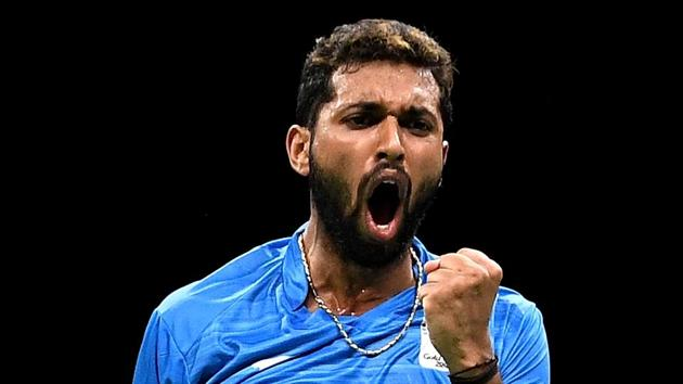 File image of India shuttler HS Prannoy.(Getty Images)