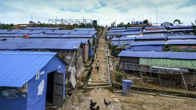 """Myanmar has made """"minimal"""" preparations for the return of hundreds of thousands of Rohingya Muslim refugees sheltering in neighbouring Bangladesh.(AFP Photo)"""