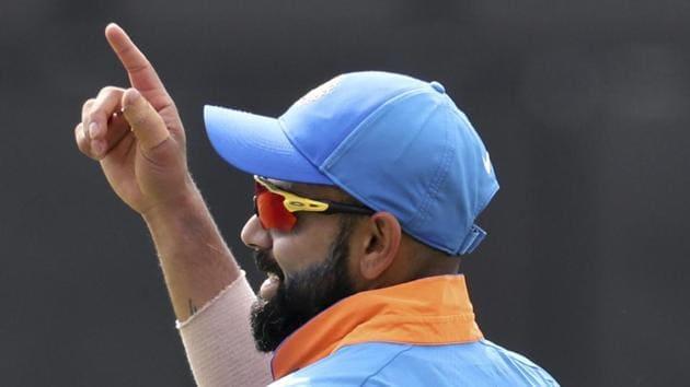 File image India skipper Virat Kohli.(AP)