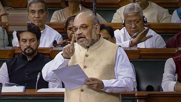Union Home Minister Amit Shah(PTI)