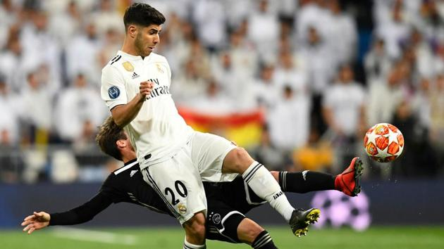A file photo of Marco Asensio.(AFP)