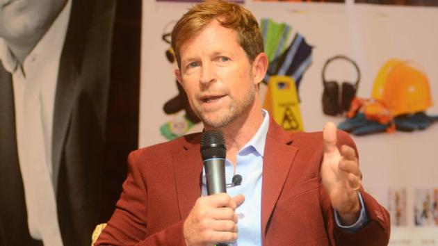 A file photo of former South Africa cricketer Jonty Rhodes.(HT Photo)