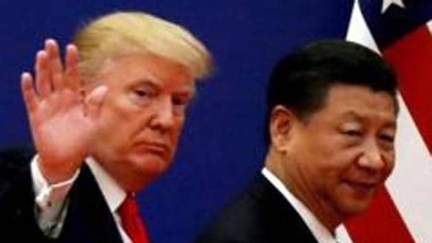 U.S. President Donald Trump and China's President Xi Jinping.(REUTERS Photo)