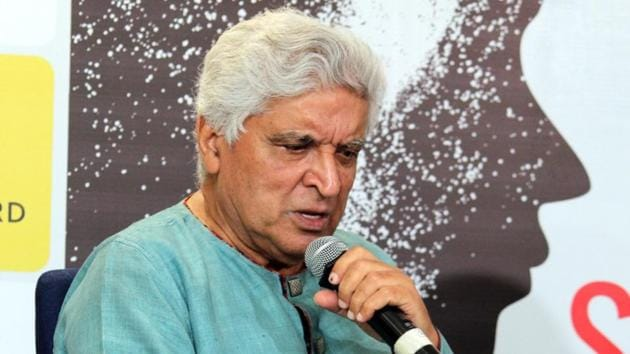 Poet, lyricist and screenwriter Javed Akhtar at the launch of Sonal Sonkavde's book So What in Mumbai.(IANS)