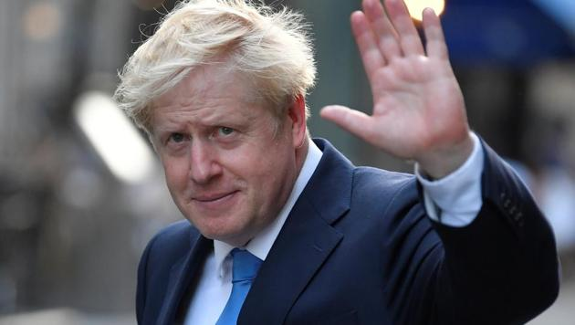 Boris Johnson, leader of the Britain's Conservative Party, leaves a private reception in central London, Britain July 23, 2019. REUTERS/Toby Melville(REUTERS PHOTO)