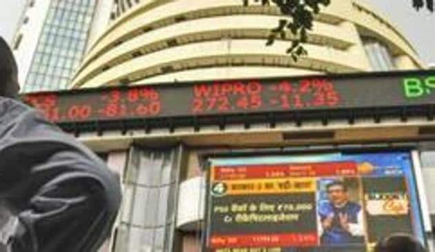 At 10:15 am, the BSE S&P Sensex was down 197 points at 37,786 while the Nifty 50 slipped 71 points to 11,260.(PTI Photo)