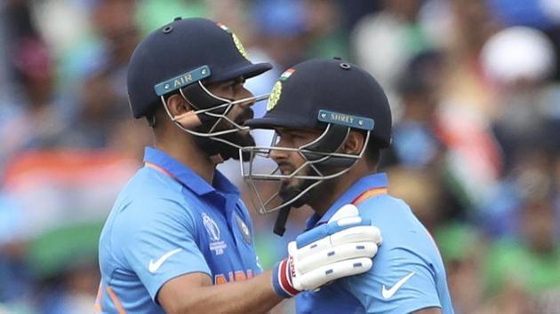 File image of India cricketers Virat Kohli and Rishabh Pant.(AP)