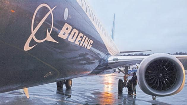 Boeing Co posted its largest-ever quarterly loss , diving nearly $3 billion into the red.(REUTERS Photo)