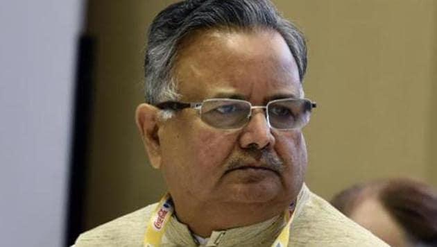 Former Chhattisgarh Chief Minister Raman Singh(Mohd Zakir/HT FILE PHOTO)